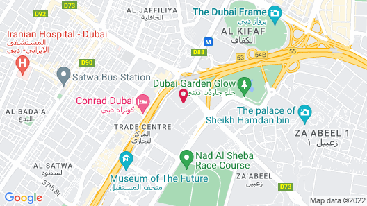Jumeirah Living - World Trade Centre Residence Map