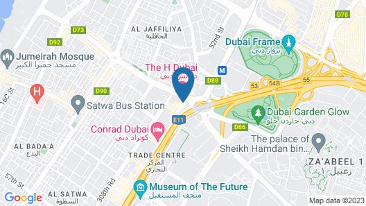 The H Dubai  Map