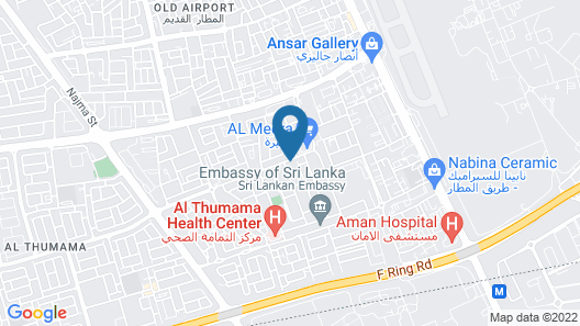 Casa De Doha Hostel Map