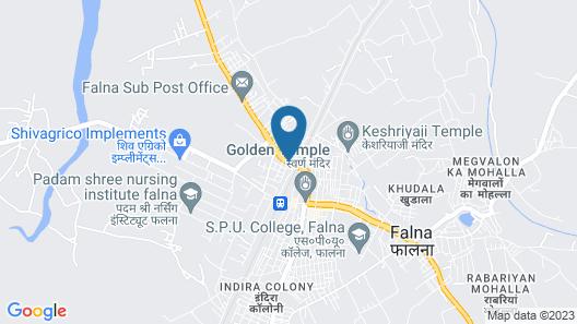 Hotel Khalsa Palace Map