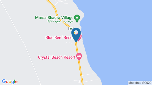 Blue Reef Marsa Alam Map