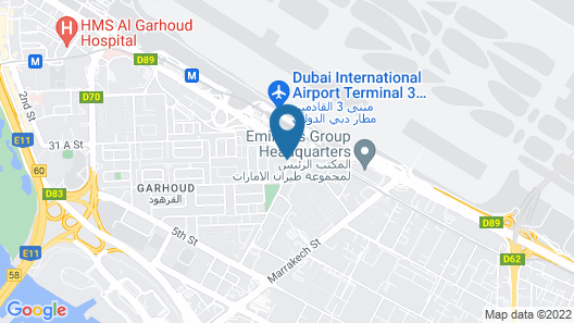 Holiday Inn Express Dubai Airport, an IHG Hotel Map