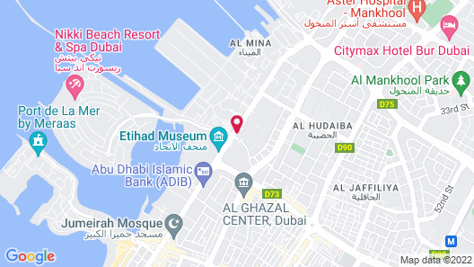 Holiday Inn Express Dubai Jumeirah, an IHG Hotel Map