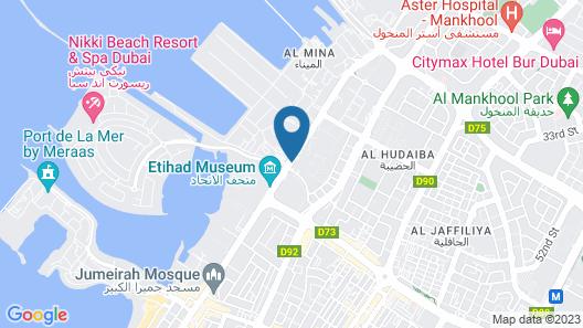 Holiday Inn Express Dubai Jumeirah Map