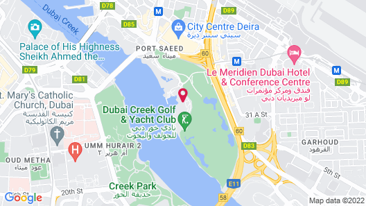 Park Hyatt Dubai Map