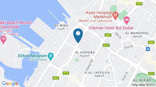 Hyatt Place Dubai Jumeirah Map