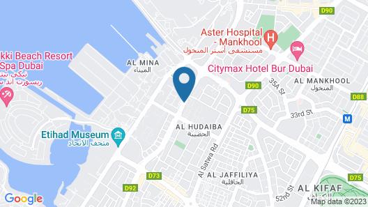 Hyatt Place Dubai Jumeirah Residences Map