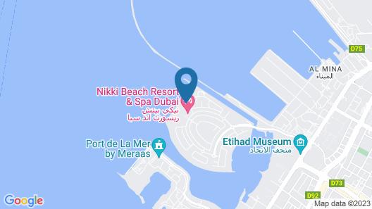 Nikki Beach Resort & Spa Dubai Map