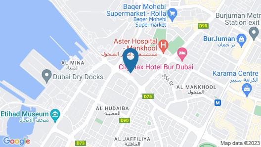 La Quinta by Wyndham Bur Dubai Map