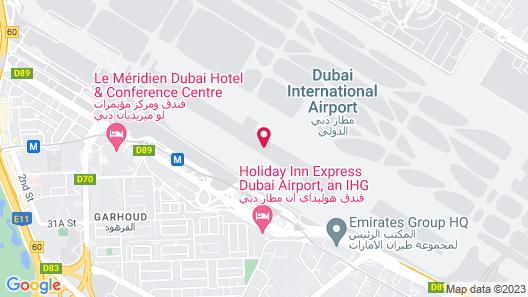 Sleep 'n Fly Sleep Lounge – Dubai Airport, A-Gates Terminal 3 Map