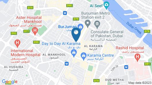 DoubleTree by Hilton Dubai M Square Hotel & Residences Map