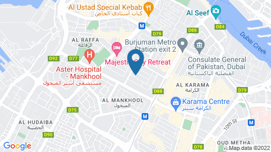XCLUSIVE Hotel Apartments Map