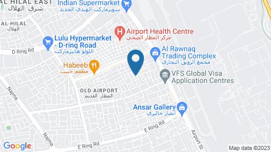 Al Khor Hostel Map