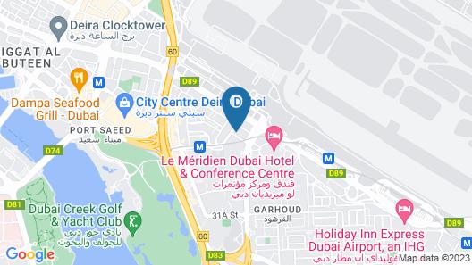 Grand Mercure Dubai Airport Hotel Map
