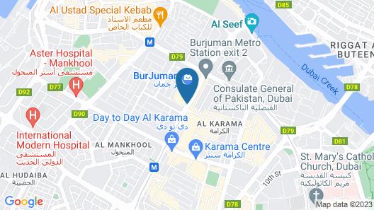 BurJuman Arjaan by Rotana Map