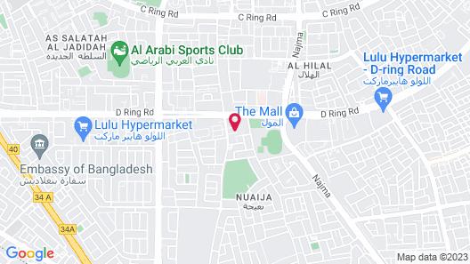 Q Hostel Map