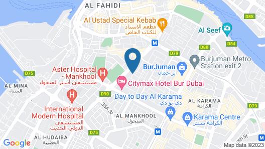 Majestic City Retreat Hotel Map