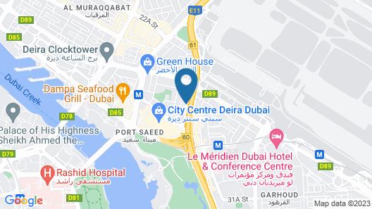 J5 Hotels - Port Saeed Map