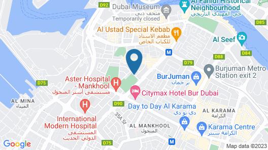 Omega Hotel Map