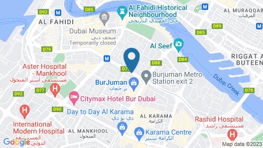 Raviz Center Point Hotel  Map