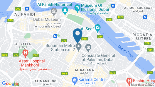 Better Living Hotel Apartment Map