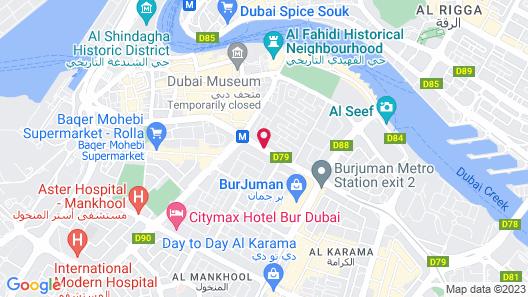 Four Points by Sheraton Bur Dubai Map
