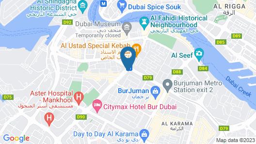 Regal Plaza Hotel Map