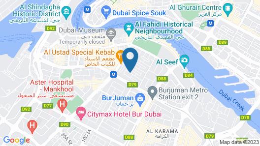Al Khoory Inn Map