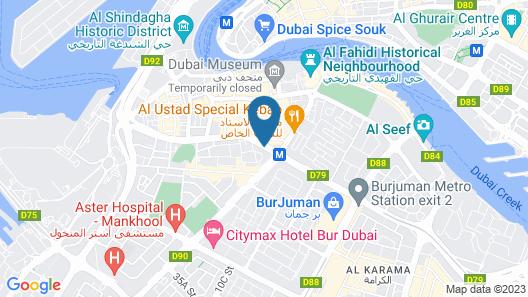 Rush Inn Hotel Map