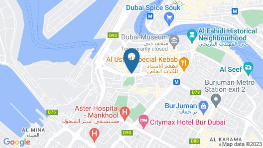 Smana Hotel Al Raffa Map