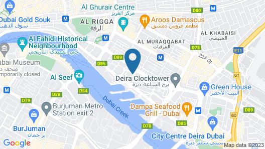 Samaya Hotel Deira Map