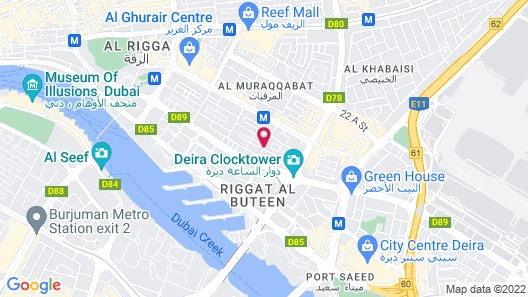 Sun and Sands Hotel Map