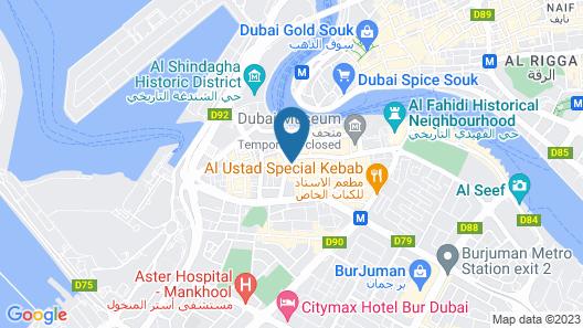 Astoria Hotel Dubai Map