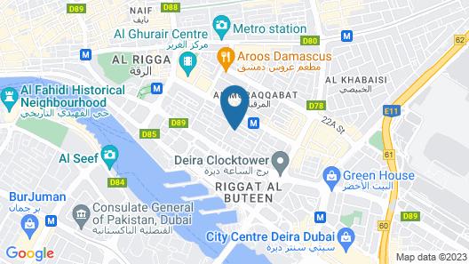 Al Sarab Hotel Map