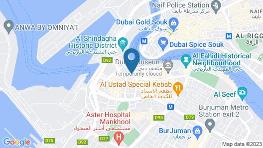 Ambassador Hotel Map