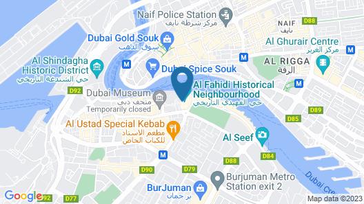 XVA Art Hotel Map