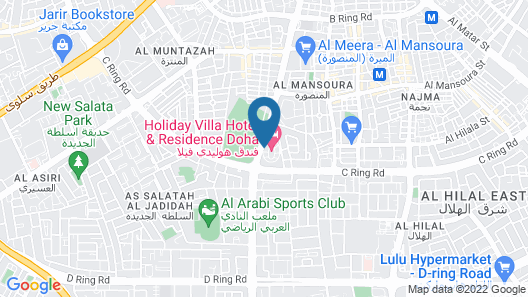 Holiday Villa Hotel And Residence City Centre Doha Map