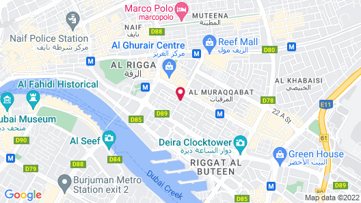 SUN AND SANDS DOWNTOWN HOTEL Map