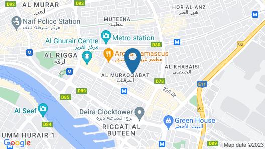OYO 101 Click Hotel Map