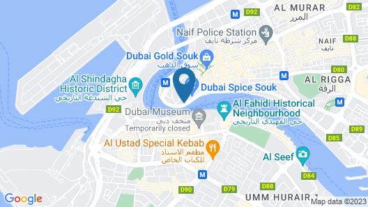 OYO 261 Remas Hotel Apartment Map