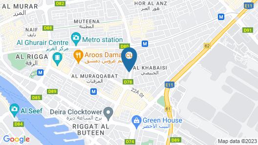 Nojoum Hotel Apartment Map