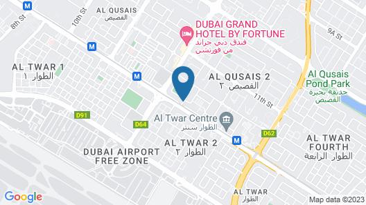 Fortune Plaza Hotel Map