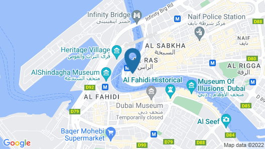 Hafez Hotel Apartments Map