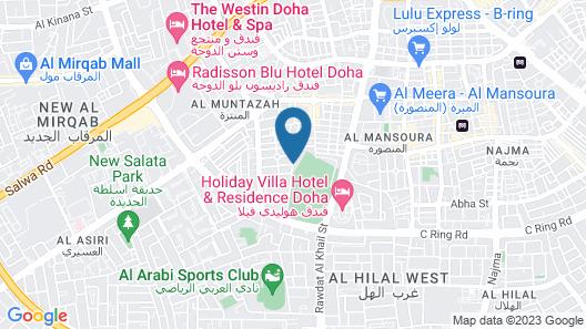Rawdat Al Khail Hotel Map