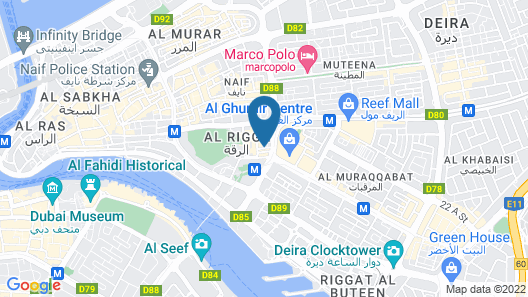 Le Wana Hotel Map