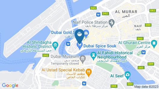 Wyndham Dubai Deira Map
