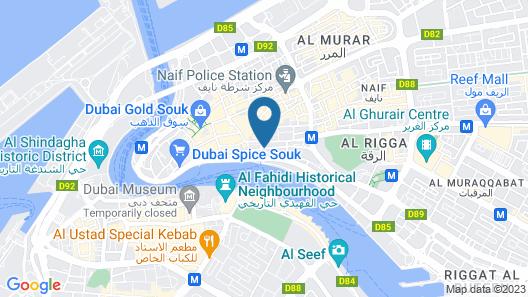 Al Khaleej Grand Hotel Map