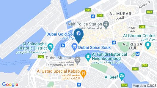 Buraq Hotel BY Gemstones Map