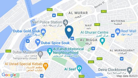 Phoenicia Hotel Map