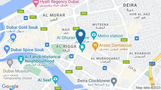 Swissotel Al Ghurair Map
